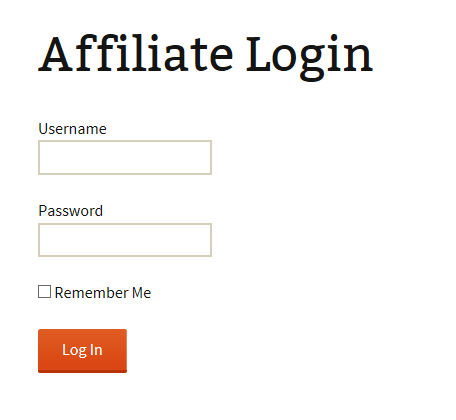 affiliate-login-widget-screenshot