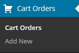 simple-wordpress-shopping-cart-orders-menu