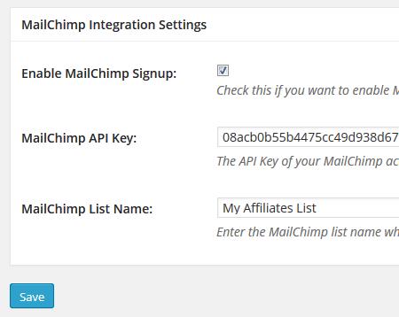 affiliates-manager-mailchimp-integration-settings