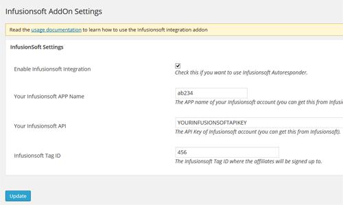 infusionsoft-addon-admin-settings-interface