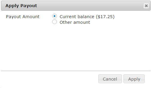 manual payout menu of affiliates manager plugin